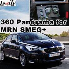 360 panorama & traseiro para DS3 DS4 DS5 DS6 com MRN & SMEG + visão do sistema de interface LVDS de entrada de sinal RGB tela elenco