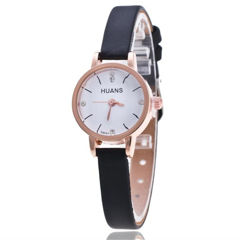 Fashion Leather Watches For Women Analog Watches Elegant Casual Major Wristwatch Clock Small Dial Mini Hot Sale wholesale fashion leather watch for gilrs women analog watches elegant casual major wristwatch clock small round dial mini reloje hot sale
