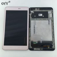 LCD Display Panel Screen Monitor Touch Screen Digitizer Assembly With Frame For Asus Memo Pad 8