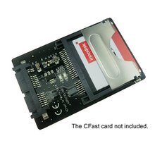 16Pin Micro SATA to CFast Card adapter 1.8 inch Hard Disk Case SSD HDD CF Card Reader for PC Laptop