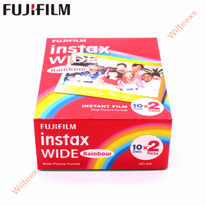 Image 3 - 10 100 fogli Originale Fujifilm Instax Largo Immediata Film Bianco/Arcobaleno/In Bianco E Nero Per Fuji Macchina Fotografica Istantanea 300 /200/210/100/500AF