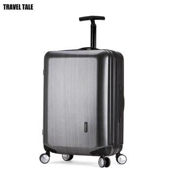 TRAVEL TALE 20 24 inch fashion spinner hard luggage retro suitcase PC traveling laguage trolley bag лоток для бумаг вертикальный металлический