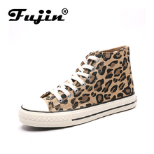 FUJIN Brand Women Casual Shoes Sneakers 2019 Fashion Lace Up Female Spring Autumn Comfotable for