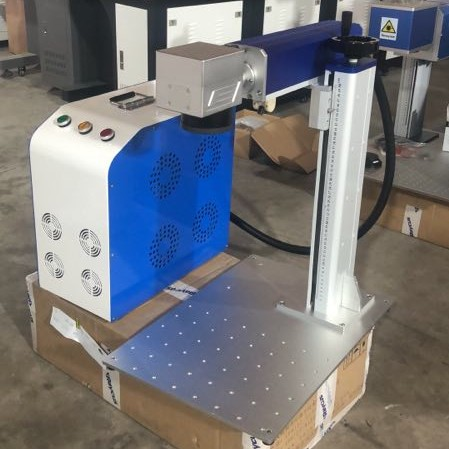 Marking-Machine Fiber Laser Rotary Metal With 30W Raycus Have Good-Price Hot-Sell