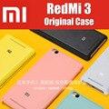 """Snapdragon 616 redmi3 em estoque oficial 100% original pu couro capas para xiaomi redmi 3 pro case 5.0 """"colorido série CN0112"""
