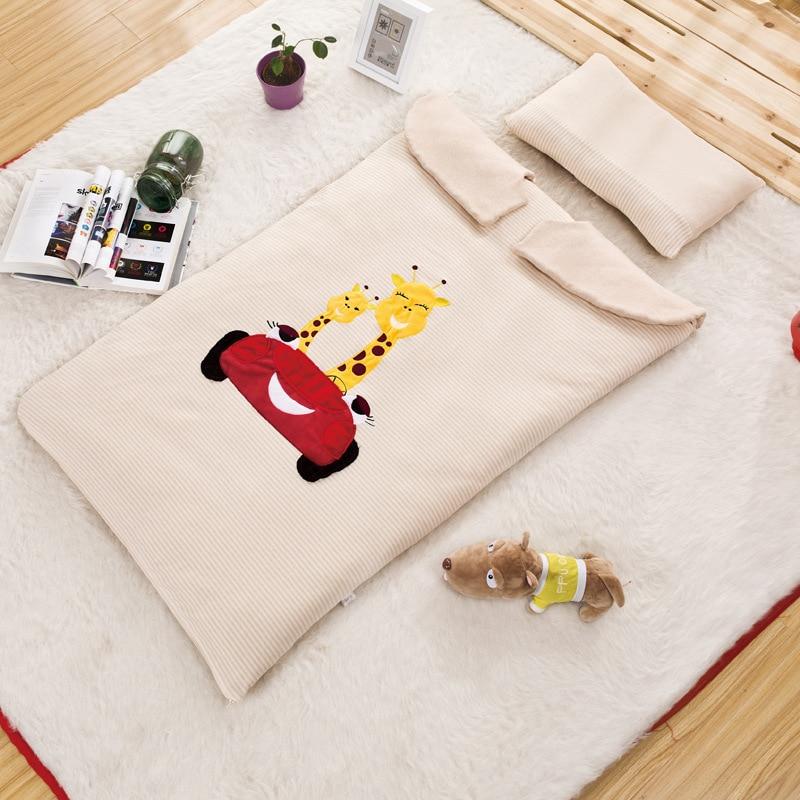 ФОТО Retail Cartoon Baby sleeping bags newborn baby Baby Cribs spring autumn bedding warm pretty Sleepsacks cotton soft Sleepsacks