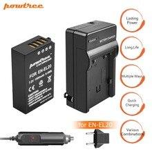 1X EN-EL20 ENEL20 EN EL20 AKKU Battery 7.2V 1300mAh +Battery Charger+Car charger for Nikon 1 J1 J2 J3 S1 Free Drop Z1 Camera L15 все цены
