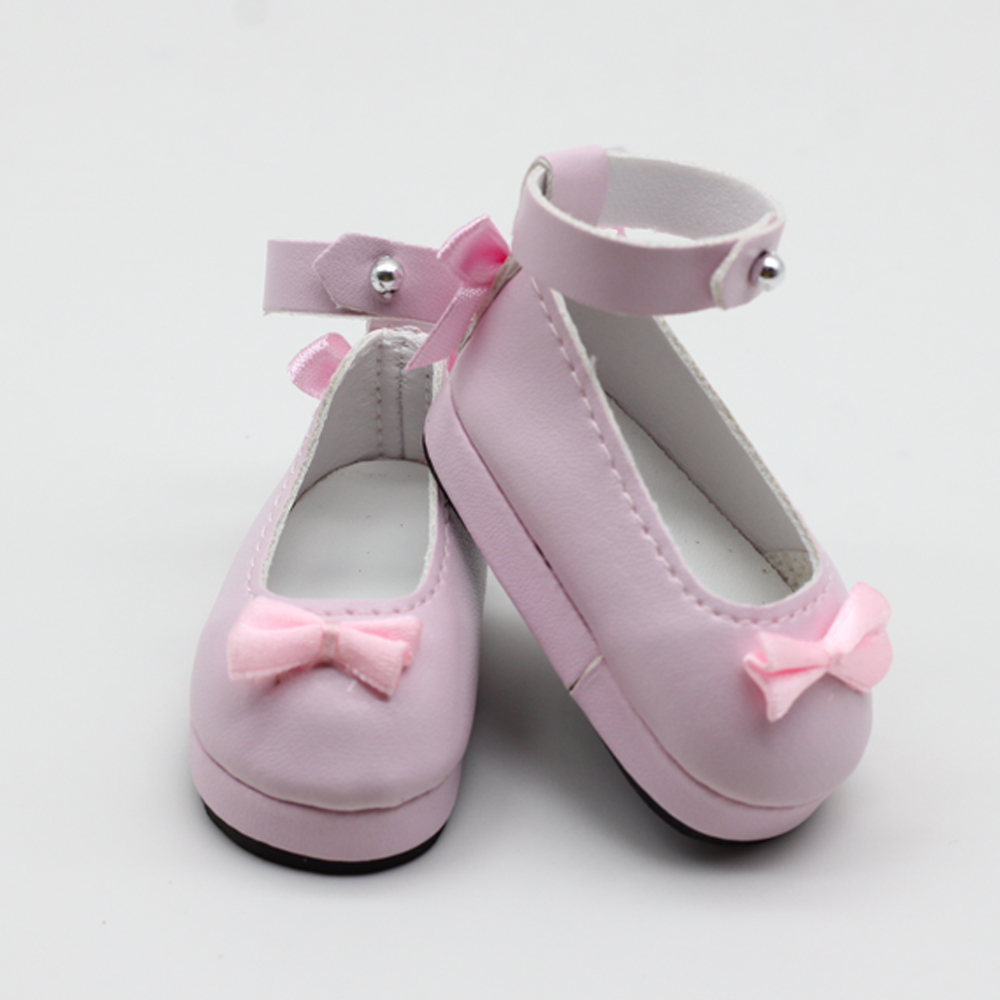 6*3cm Mini Dolls PU Leather Shoes For Dolls 1/6 1/4 BJD Doll Babys Accessories