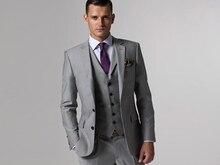 Custom Made Woolen dark brown Herringbone Tweed British style Mens suit tailor slim fit Blazer wedding men 3pcs