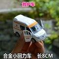 2016 новый автомобиль модели игрушка автомобиль воин сплава белый скорой помощи 31