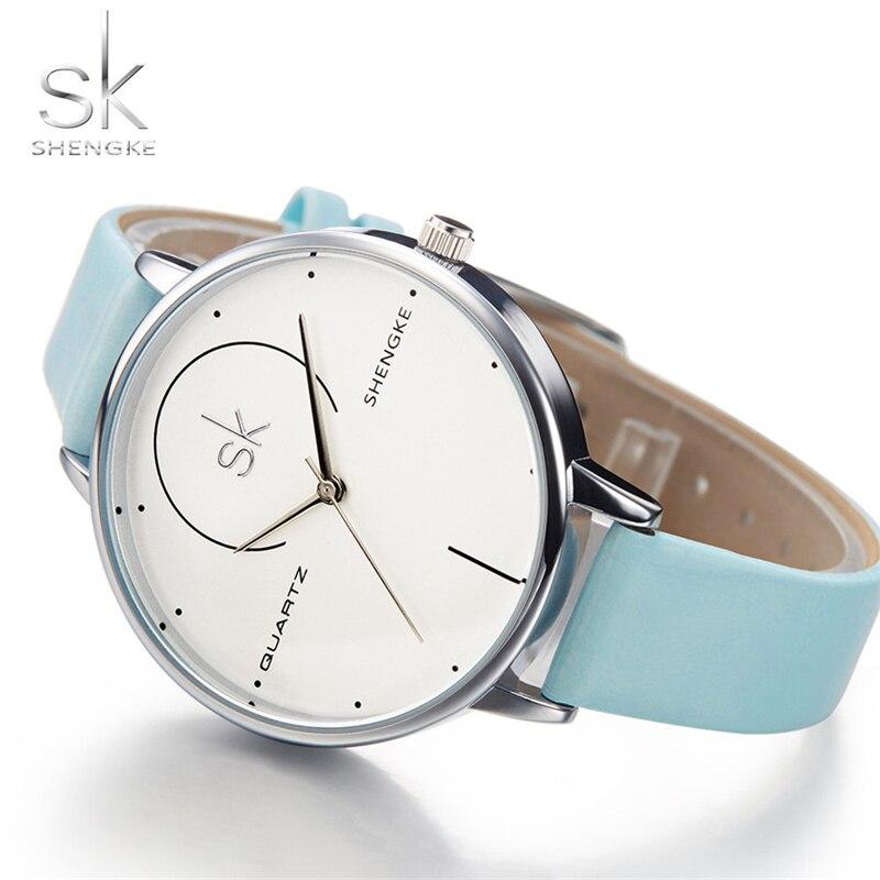 f6c231892f3 Mulheres Relógios Relógios de Luxo Shengke Marca Mulheres de Moda ...