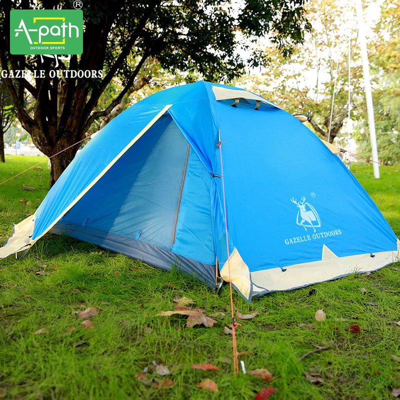 Outdoor Winter Folding Travel Ultralight 2 Person Tent Tente Camping Beach Gazelle Tent Mosquito Net Single Tents China Events-in Tents from Sports ...