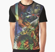 All Over Print 3D Tshirt Men Funny T Shirt Final Fantasy 7 - Restored Poster Art Graphic T-Shirt(China)