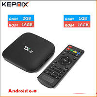 5PCS 2017 TX2 Android TV Box Rockchip RK3229 Quad Core 2G 8G Wifi Android 6 0