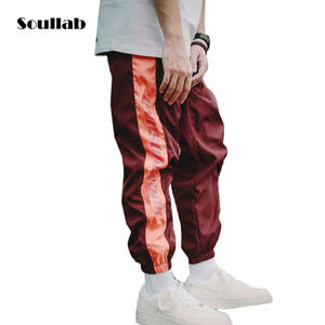 soullab red men bottoms track pants jogger trousers 939739936e5