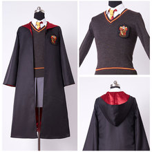 Kids Gryffindor Robe Uniform Hermione Granger Cosplay Costume Child Version