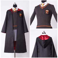 Kids Gryffindor Robe Uniform Hermione Granger Cosplay Costume Child Version