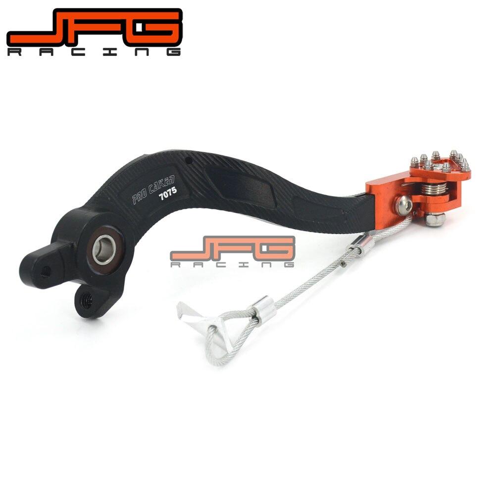 Billet Flexable MX Rear Foot Brake Pedal For KTM EXC EXCF SX SXF SXS XC XCR XCW XCF XCRF NXC MX SMR SIX DAYS 125-530 08-13