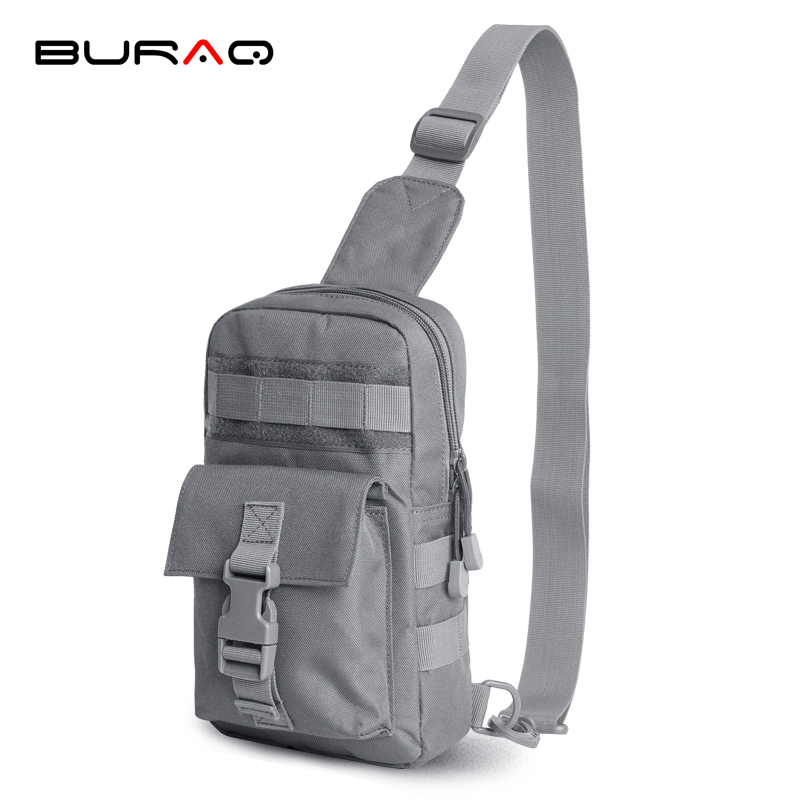 Cool Ultra Light Molle Shoulder Pouch Fashion Multi-function Messenger Bag Leisure Chest Pack Army Camouflage Bag T0219