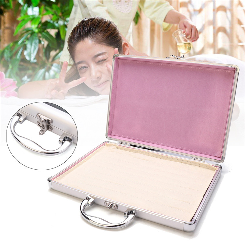 Boîte de chauffage de Massage en pierre 220 V boîtier en alliage d'aluminium pour poudre d'énergie Lave-pierre de basalte beauté chaude thérapie de Massage SPA
