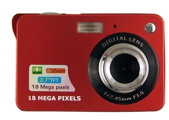 Amkov Mini Digital Camera 8x Digital Zoom Digital Photo Frame 2 7 5MP COMS HD 18MP