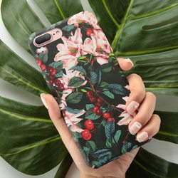 KISSCASE For Case iPhone 7 Fashion Leaf Hard PC Back Cover For iPhone 7 Plus Phone Case Fundas For iPhone 7Plus iPhone7 Coque 3