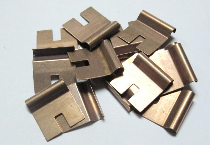 Производство OEM латунь бронза покрытие штамповки деталей в мебель или машину