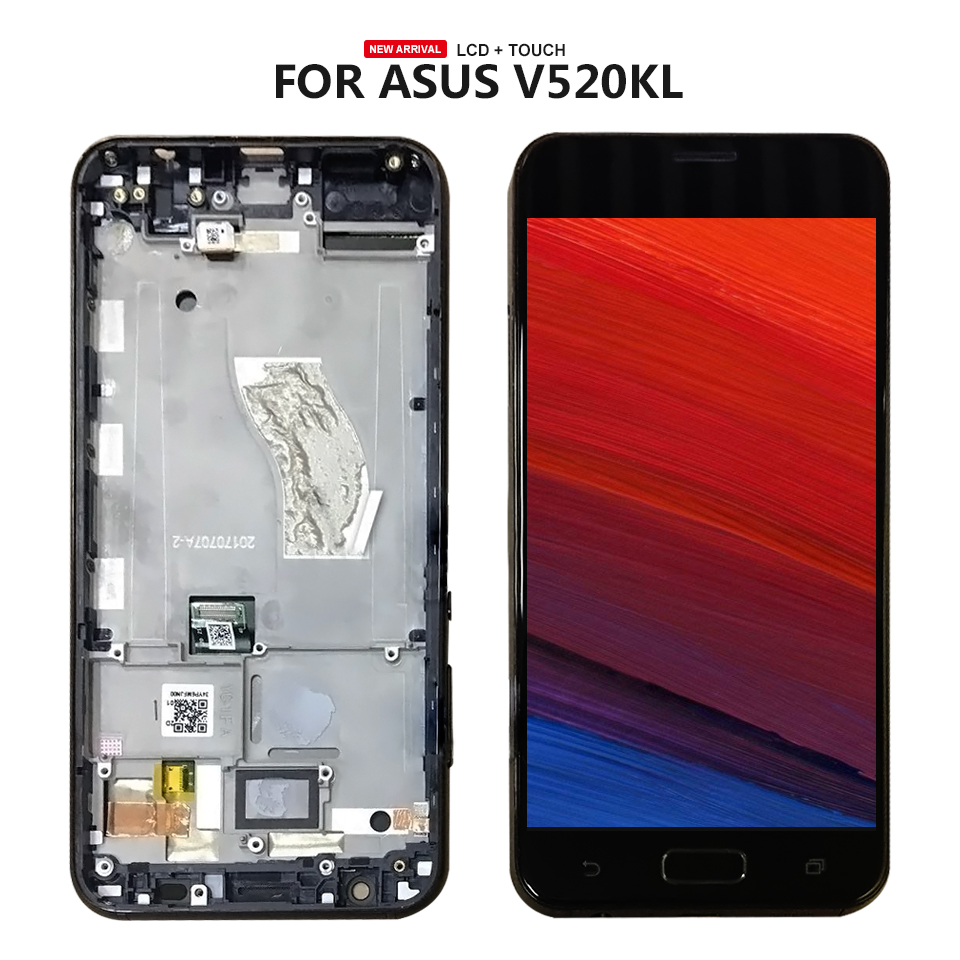 For ASUS Zenfone V V520KL LCD Display Digitizer Touch Panel Screen Assembly +FrameFor ASUS Zenfone V V520KL LCD Display Digitizer Touch Panel Screen Assembly +Frame