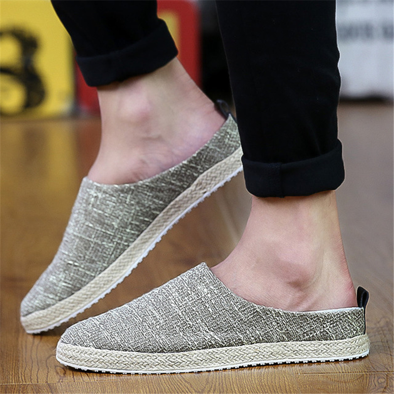 Holgazanes Suave Comfort Moda Zapatos Verano caqui Armadura Transpirable Hombres Beige Aa12315 negro dxBqYwd
