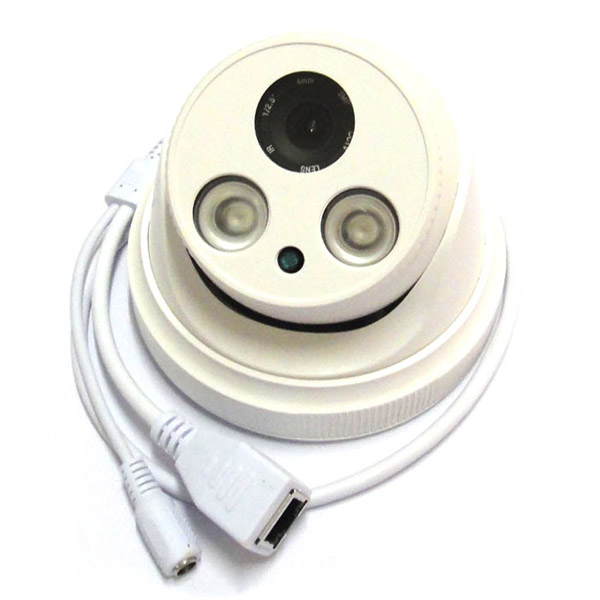 Full HD 1920*1080 2.0MP CCTV POE IP Camera Indoor Dome network Security 2mp 1080p 2IR Leds, CS 3mp lens