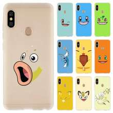 Cute pokemon Cover For Xiaomi Redmi Note 7 6 5 4 3 pro Case for Redmi 6a s2 5a 5 Plus 4a 4x 3 Pro(China)