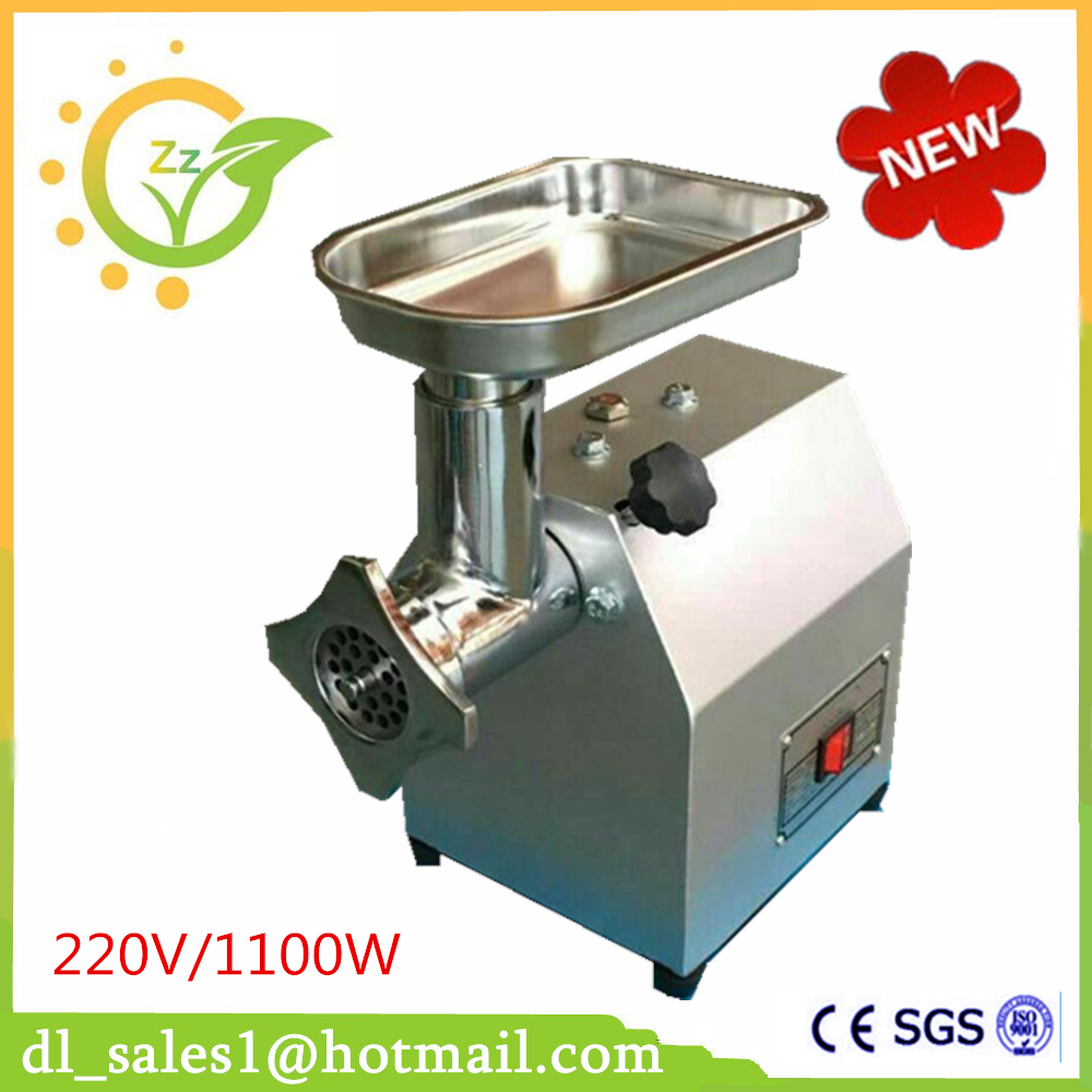 free shipping 220 kg/hour 220V electric CE Commercial meat grinder Stainless Steel Electric meat grinder machine multi function electric stainless steel household commercial food meat grinder 220v