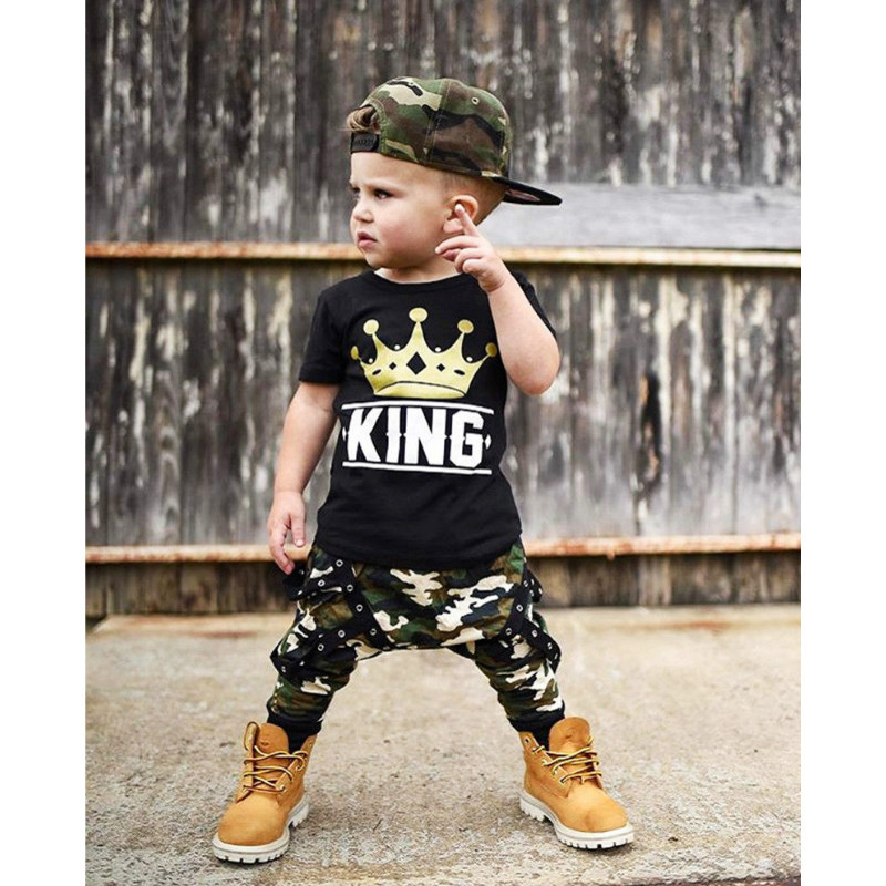 2018 children fashion summer baby boys girls clothing sets bow 2pcs camouflage sport suit clothes sets boys girls summer set портативная колонка ginzzu gm 878b черная