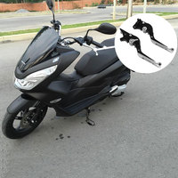 For HONDA PCX 125 PCX125 PCX150 PCX 150 Motorcycle Accessories Folding Extendable Brake Clutch Levers