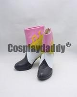 THE IDOLM@STER Cinderella Girls Shimamura Uzuki Halloween Cosplay Shoes Boots X002