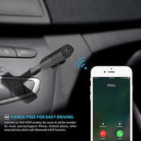 3,5mm coche Bluetooth Kit receptor de Audio pegatina para Renault Megane 2 3 Duster Logan Clio 4 3 Laguna 2 sandero escénico 2 CAPTURE