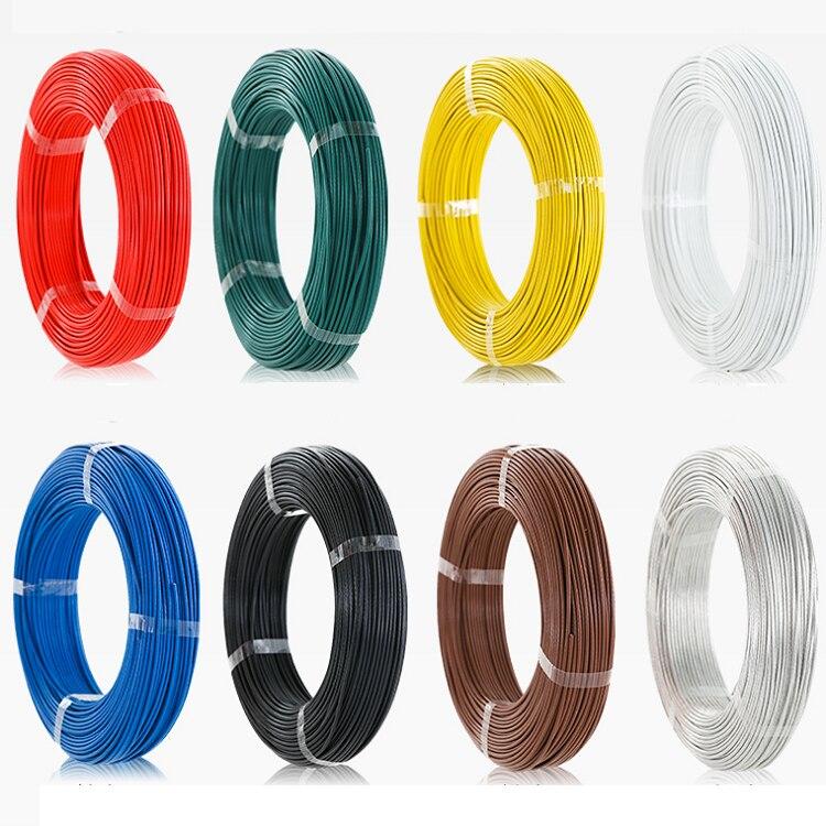 0.2mm Inductance Bobine Fil Détecteur De Véhicule Téflon FEP FF46-1 de Contrôle des Feux de Circulation Haute Température Porte Magnétique Câble de Bobine