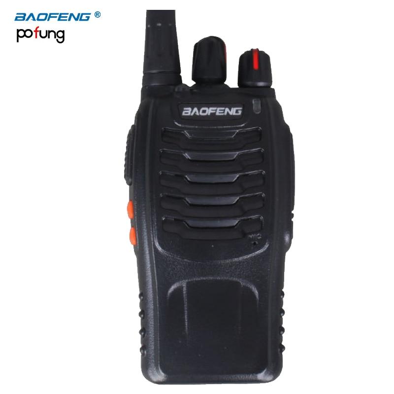 Baofeng BF walkie talkie radio portatile 5 W Palmare Pofung bf 888 s cb radio UHF 400-470 MHz portatile professione FM