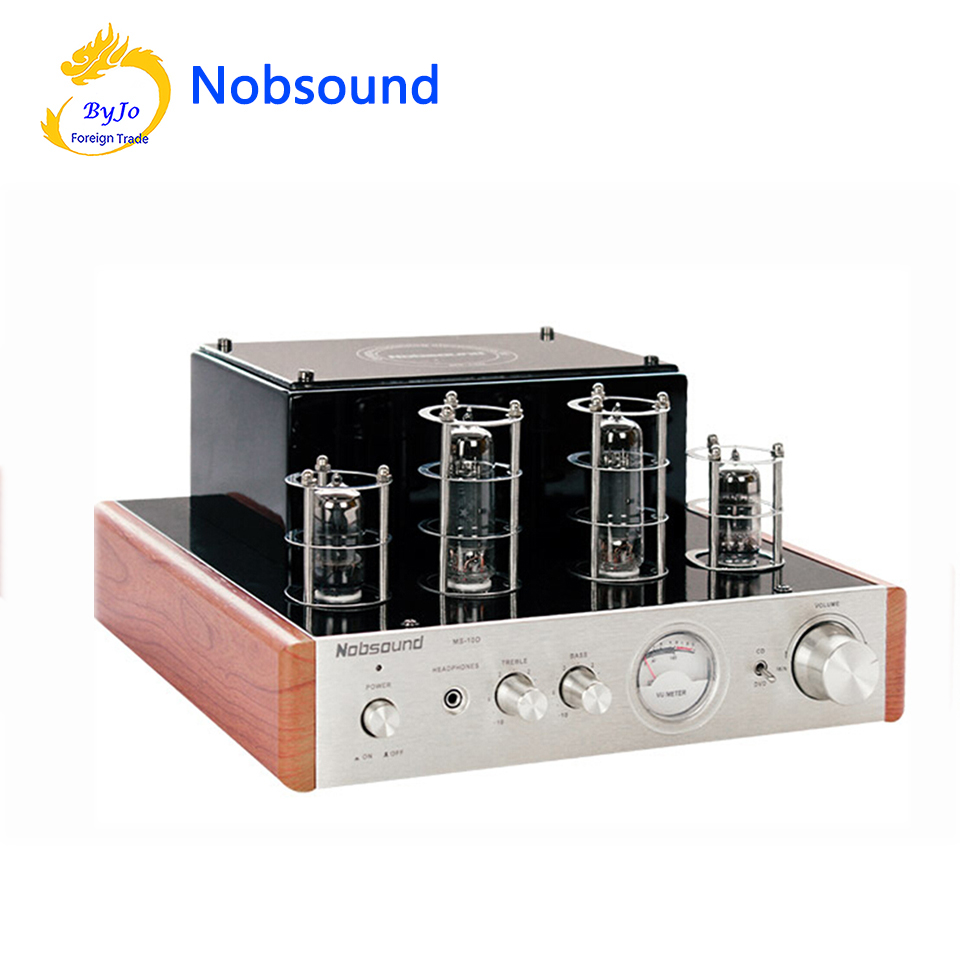 Nobsound MS-10D Tube Amplifier Hifi Stereo Audio Power Amplifier 25W*2 Vaccum Tube AMP and Headphone support 110V or 220V аудио усилитель nobsound ms 10dmkii 2 0 usb bluetooth hifi 25w 2 110 220 fors ms 10d