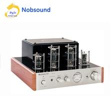 Nobsound MS-10D трубки Усилитель Hi-Fi стерео аудио Мощность Усилитель 25 Вт * 2 вакуумные ламповый усилитель и наушники Поддержка 110 В или 220 В