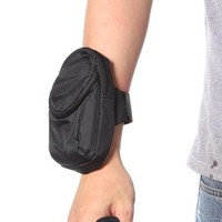 Casual Sport Double Pockets Belt Pouch Zipper Bag Waist Cover Arm Band Case For Samsung Galaxy