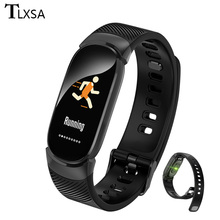 Smart Bracelet Color Screen Pedometer Band Blood Pressure Monitoring Watch Waterproof Activity Fitness Tracker Wristband