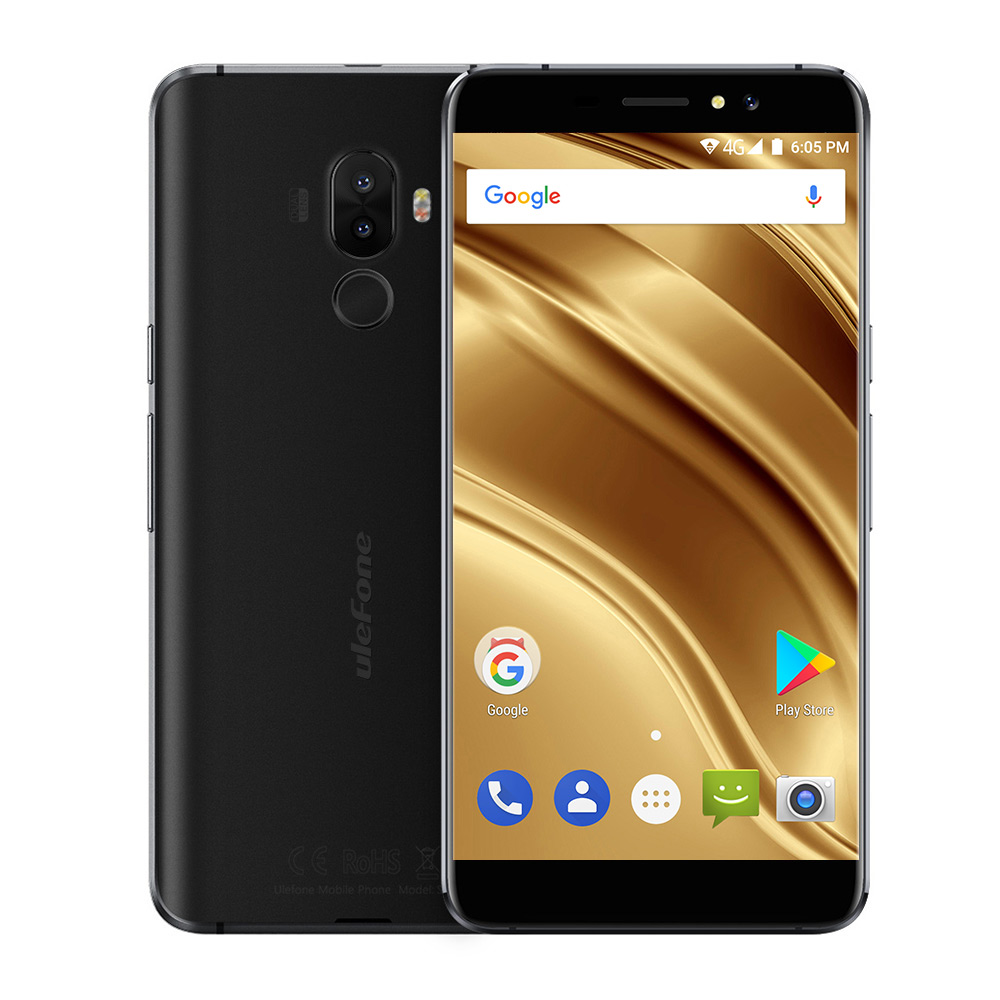 Ulefone S8 Pro Dual Rear Cameras Mobile Phone 5.3 inch HD MTK6737 Quad Core Android 7.0 2GB+16GB 13MP Fingerprint 4G SmarUlefone S8 Pro Dual Rear Cameras Mobile Phone 5.3 inch HD MTK6737 Quad Core Android 7.0 2GB+16GB 13MP Fingerprint 4G Smar