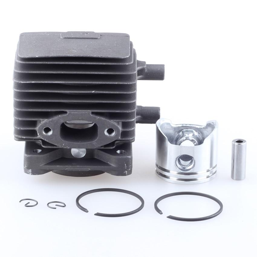 34mm Cylinder Piston Kit For STIHL FS75 FS80 FS85 FC75 FC85 FR85 KW85 Chainsaw #4137 020 1202 new 38mm cylinder piston rings needle bearing kit for stihl ms180 ms 180 018 chainsaw 1130 020 1208