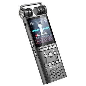 Image 4 - Профессиональный цифровой аудио диктофон с голосовой активацией, 16 ГБ, USB ручка, 100 часов записи без остановки, PCM 1536 кбит/с, поддержка TF карты