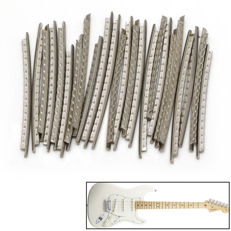 24 pcs fingerboard frets fret wire for classical acoustic guitar slivery in guitar parts. Black Bedroom Furniture Sets. Home Design Ideas