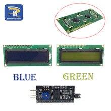 LCD1602 PCF8574T PCF8574 IIC/igc/интерфейс 16x2 символ ЖК-дисплей модуль 1602 5 В синий/желтый зеленый экран для Arduino DIY