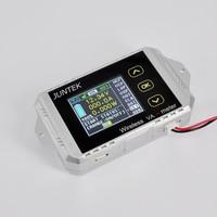 DC 100v 50A LCD Combo Meter Wireless Voltage current KWh Watt Meter 12v 24v 48v Battery Capacity Power monitoring Solar Car