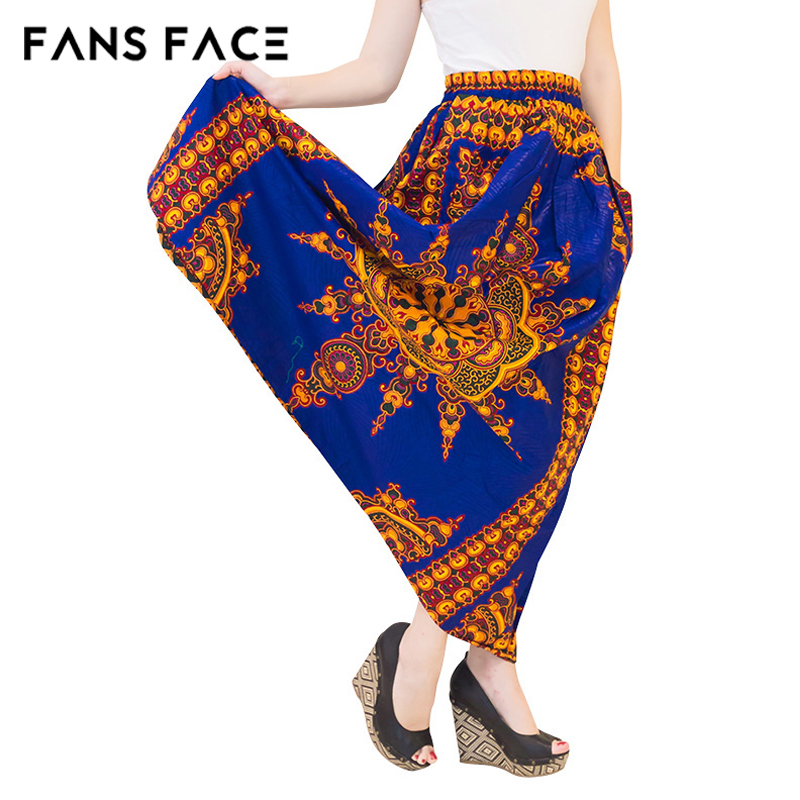 8dd6db4b7d32 African Traditional Print Blue Long Skirts Custom Made A Line Floor Length  Skirts For Office Ladies Formal Party Maxi Skirts-in Skirts from Women's  Clothing ...