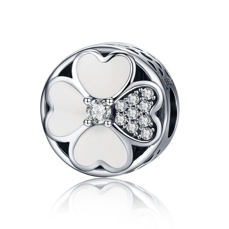 2018 Hot 100% 925 Sterling Silver Full Of Love Heart Bead Fit - Bisutería - foto 6